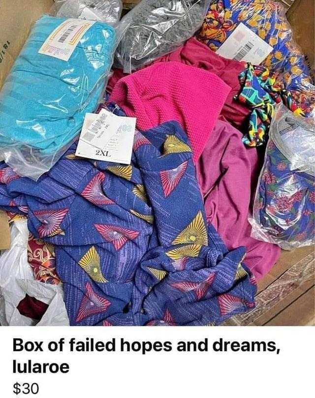 Baby & toddler clothing - 2XL Box of failed hopes and dreams, lularoe $30 181
