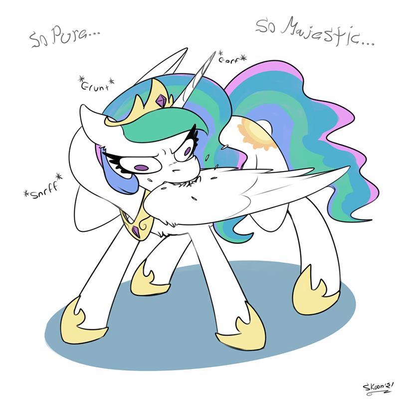 princess celestia skoon - 9602781696