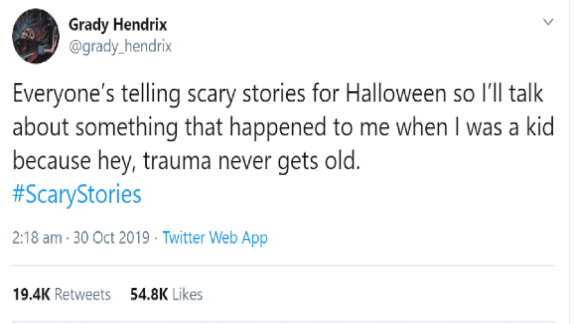 scary halloween story