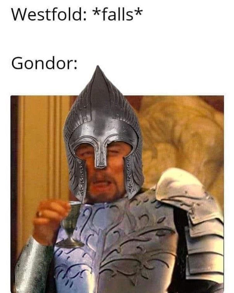 Outerwear - Westfold: *falls* Gondor:
