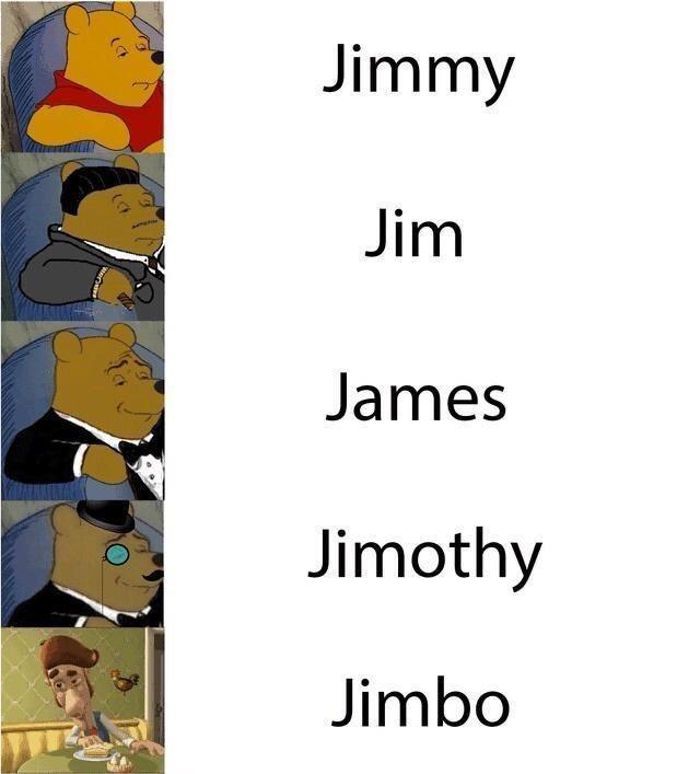 Font - Jimmy Jim James Jimothy Jimbo