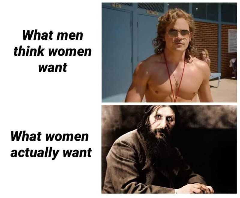 Hair - What men think women want What women actually want