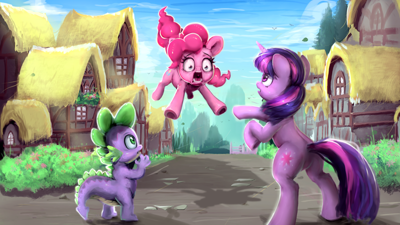 spike twilight sparkle pinkie pie xyq - 9605560576