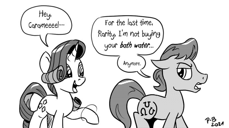 caramel pony-berserker rarity belle delphine - 9605763328