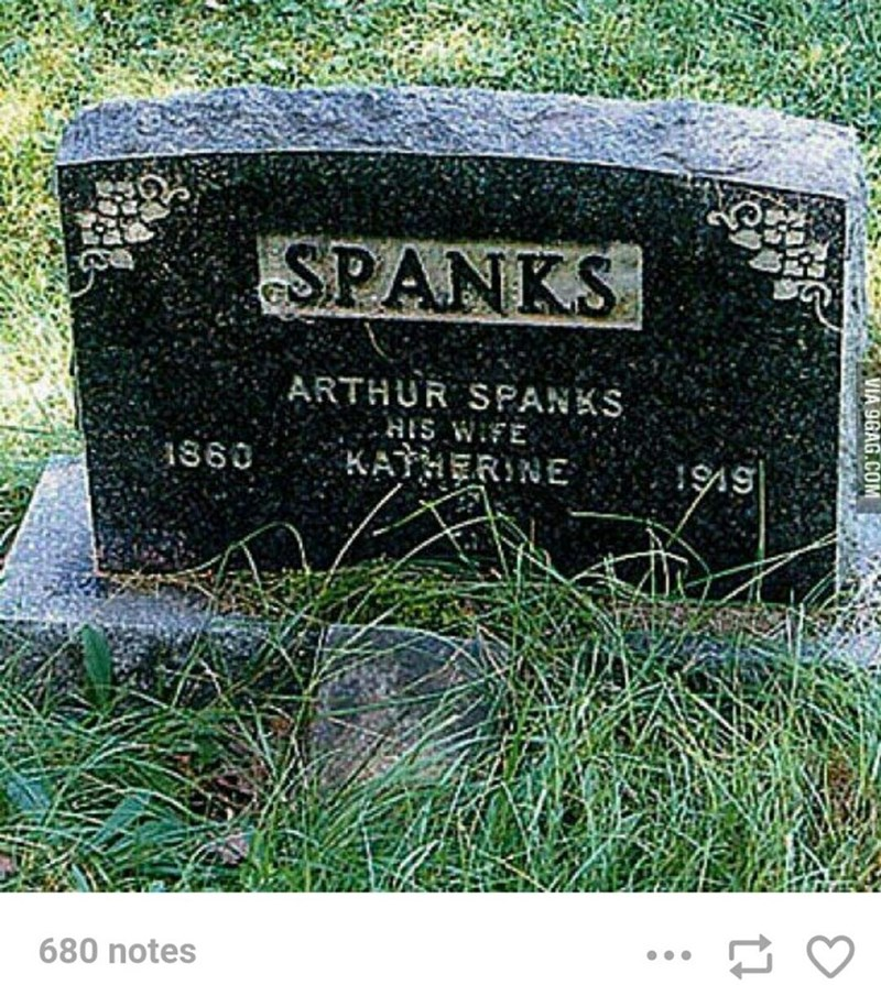 Plant - SPANKS ARTHUR SPANKS HIS WIFE 1860 KATHERINE 1999 680 notes VIA 9GAG.COM