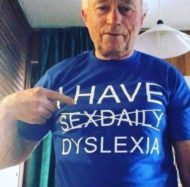 Forehead - HAVE SEXDAILY DYSLEXIA