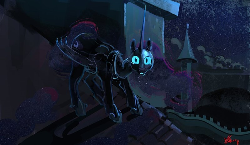nightmare moon alumx princess luna - 9607470080