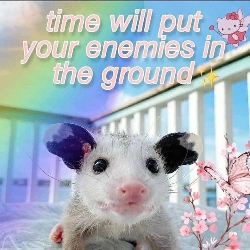 Sky - time will put your enemies in the ground