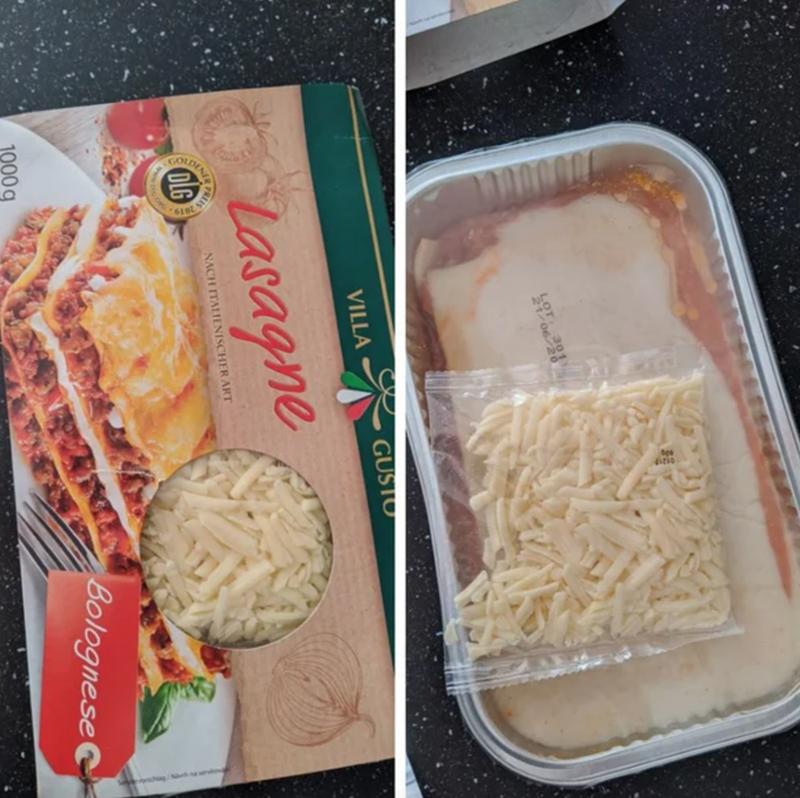 Food - GUSTO VILLA Lasagne NACH ITALIENISCHER ART OLG Bolognese 1000g