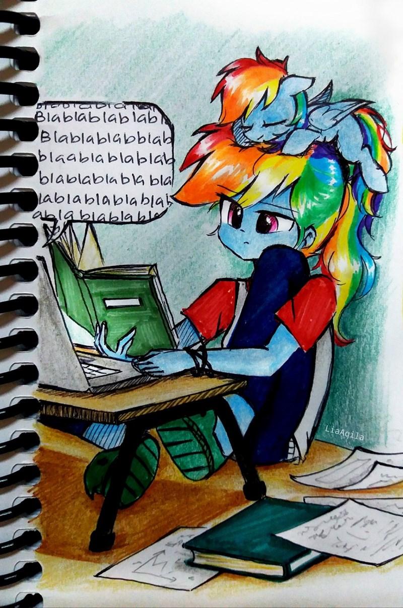 equestria girls rainbow dash lia aqila - 9608301824
