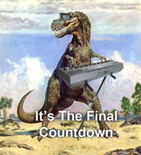 Extinction - It's The Final CountdownA