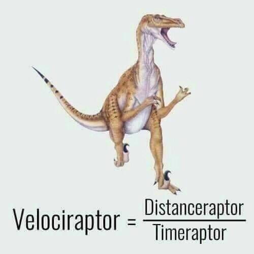 Extinction - Distanceraptor Velociraptor = Timeraptor