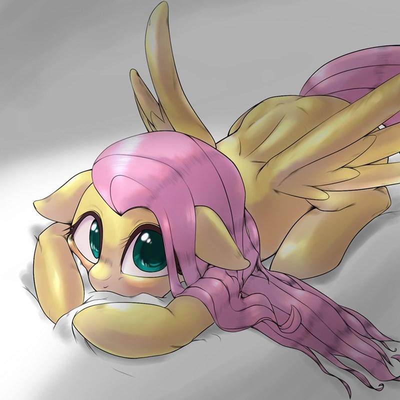 kuroge wa pony fluttershy - 9608547840