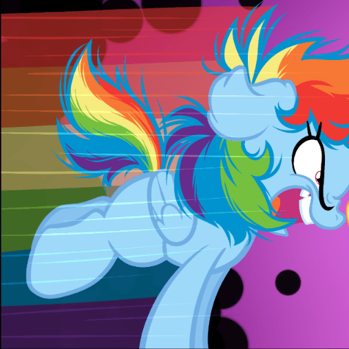 because i'm pink rainbow dash - 9608627456