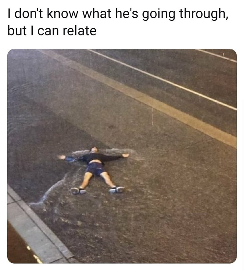 Asphalt - I don't know what he's going through, but I can relate
