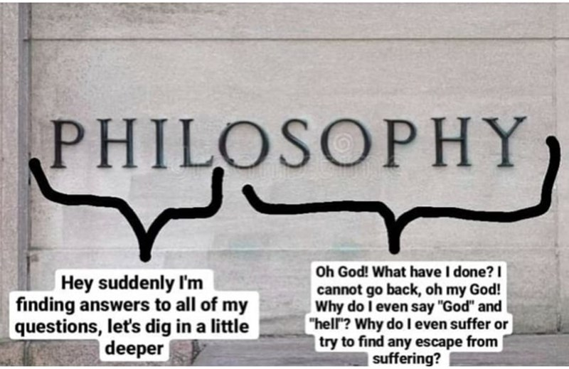 """Rectangle - PHILOSOPHY Hey suddenly I'm finding answers to all of my questions, let's dig in a little deeper Oh God! What have I done? I cannot go back, oh my God! Why do I even say """"God"""" and """"hell""""? Why do Ieven suffer or try to find any escape from 