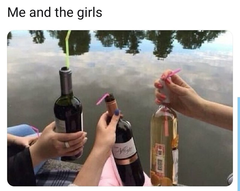 Bottle - Me and the girls