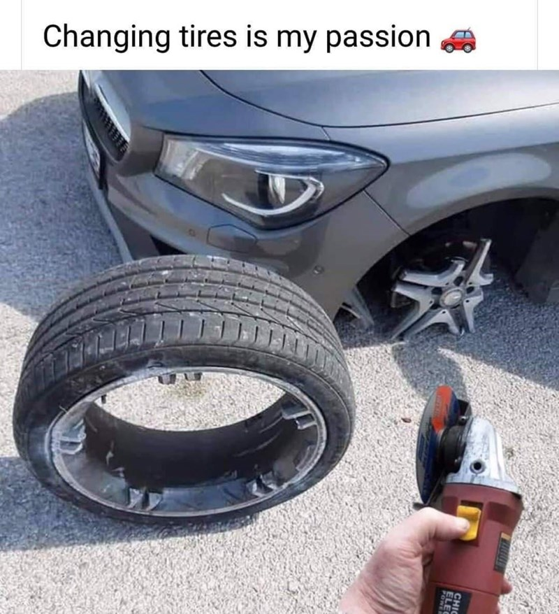 Tire - Changing tires is my passion ELEC