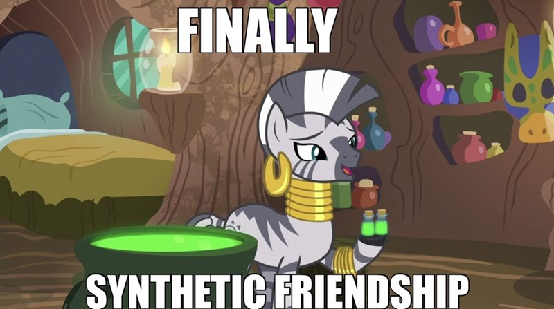 screencap zecora Memes calypso fantasy finally upgrade she talks to angel - 9609630208