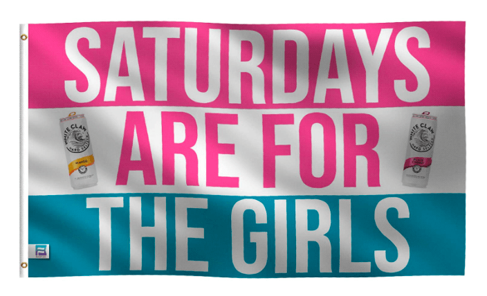 Rectangle - SATURDAYS ARE FOR THE GIRLS CLAN IL