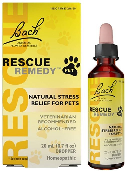 Brown - NDC #57687-248-20 Back ORIGINAL FLOWER REMEDIES RESCUE REMEDY PET NOC Back NATURAL STRESS ORIGINAL LOWER REMEDIES RELIEF FOR PETS RESCUE REMEDY VETERINARIAN RECOMMENDED ALCOHOL-FREE NATURAL STRESS RELIEF FOR PETS VETERINARIAN RECOMMENDED 20 mL (0.7 fl oz) DROPPER ALCOHOL-FRE 20 ml (0.7 fl o) DROPPER HOMEOPATHIC *See back panel Homeopathic RES RES