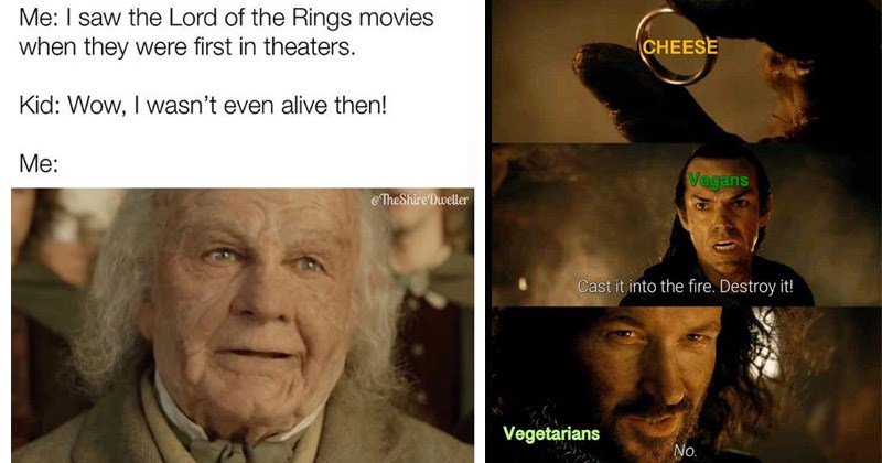 Funny memes about Lord of the Rings