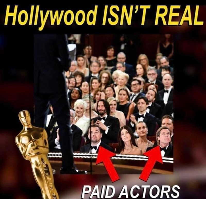 Human - Hollywood ISN'T REAL PAID ACTORS @all hail the ma