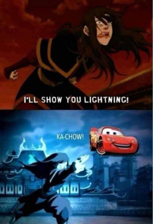 Automotive lighting - I'LL SHOW YOU LIGHTNING! KA-CHOW!