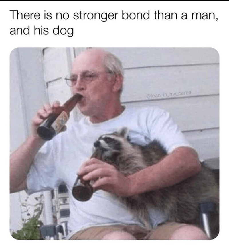 Hand - There is no stronger bond than a man, and his dog @lean in my_cereal