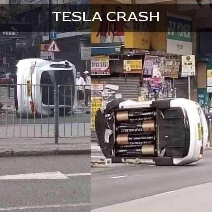 Tire - TESLA CRASH IVISA