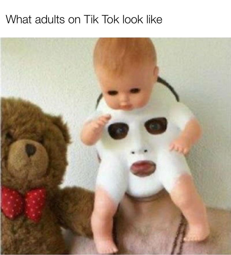 Nose - What adults on Tik Tok look like
