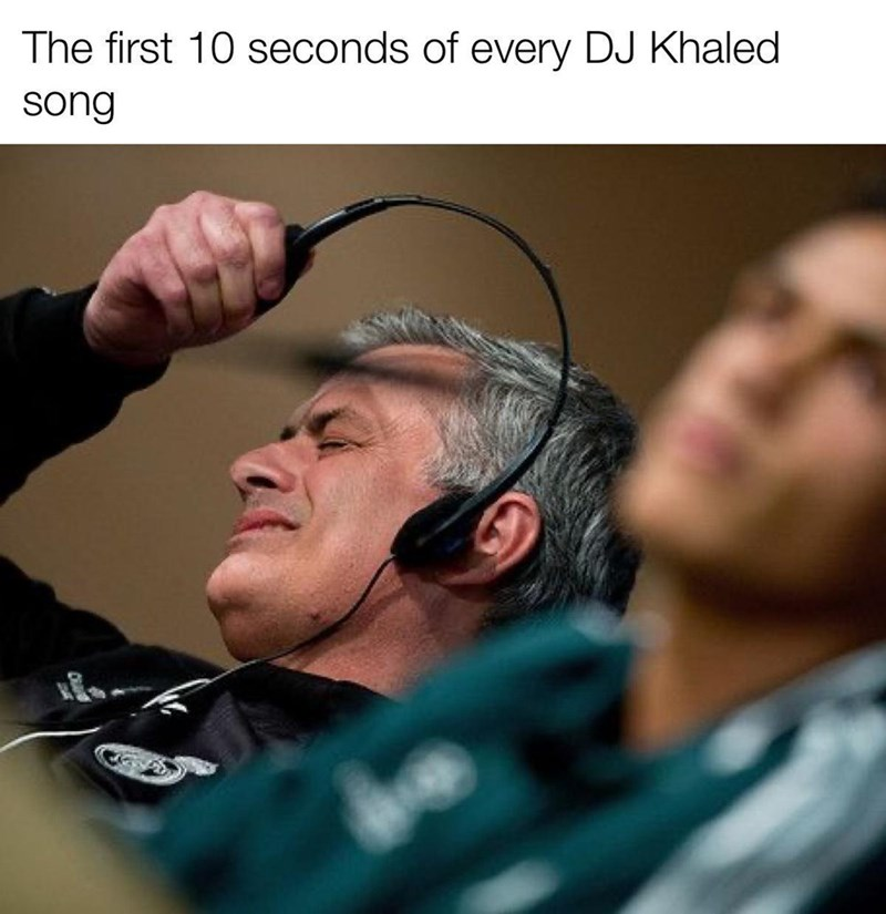 Forehead - The first 10 seconds of every DJ Khaled song