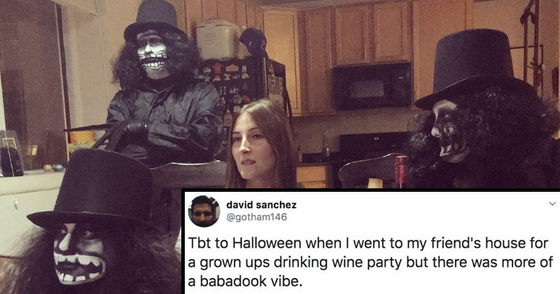 A collection of Twitter users sharing their favorite Halloween tweets.
