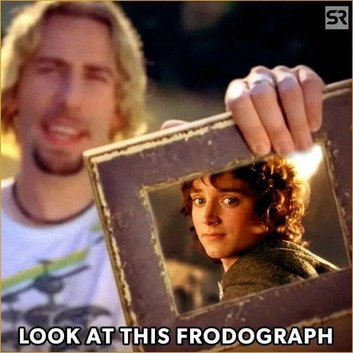 Forehead - SR LOOK AT THIS FRODOGRAPH