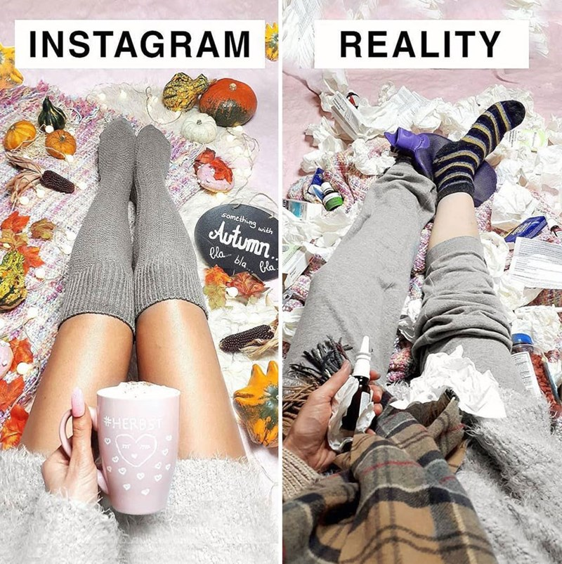 Shoe - REALITY INSTAGRAM somcihiung with Autumn. lla bla. Pla #HERBST