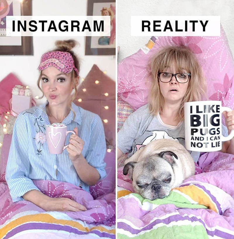 Hairstyle - INSTAGRAM REALITY I LIKE BIIG PUGS AND I CAN NOT LIE