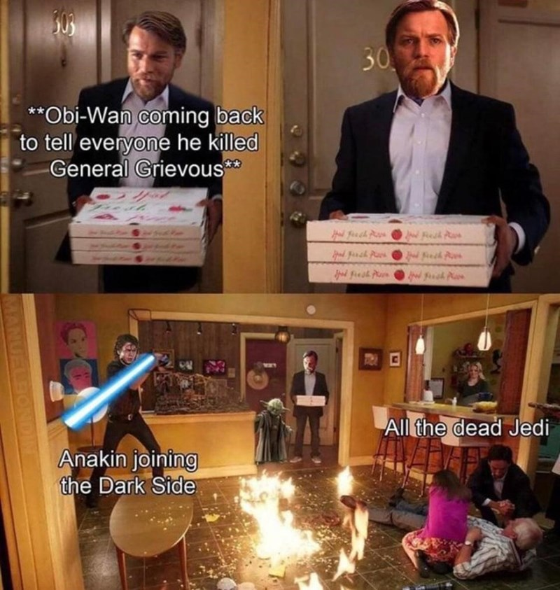 Property - 30 **Obi-Wan coming back to tell everyone he killed General Grievous** d Feech Ps d fesk Pan w fuh Aa All the dead Jedi Anakin joining the Dark Side