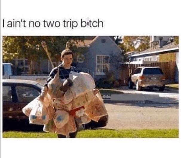Land vehicle - I ain't no two trip bitch edu