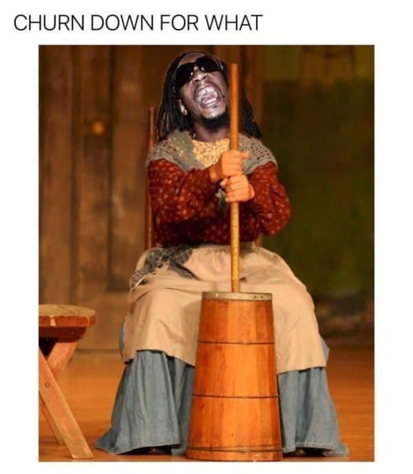 Smile - CHURN DOWN FOR WHAT