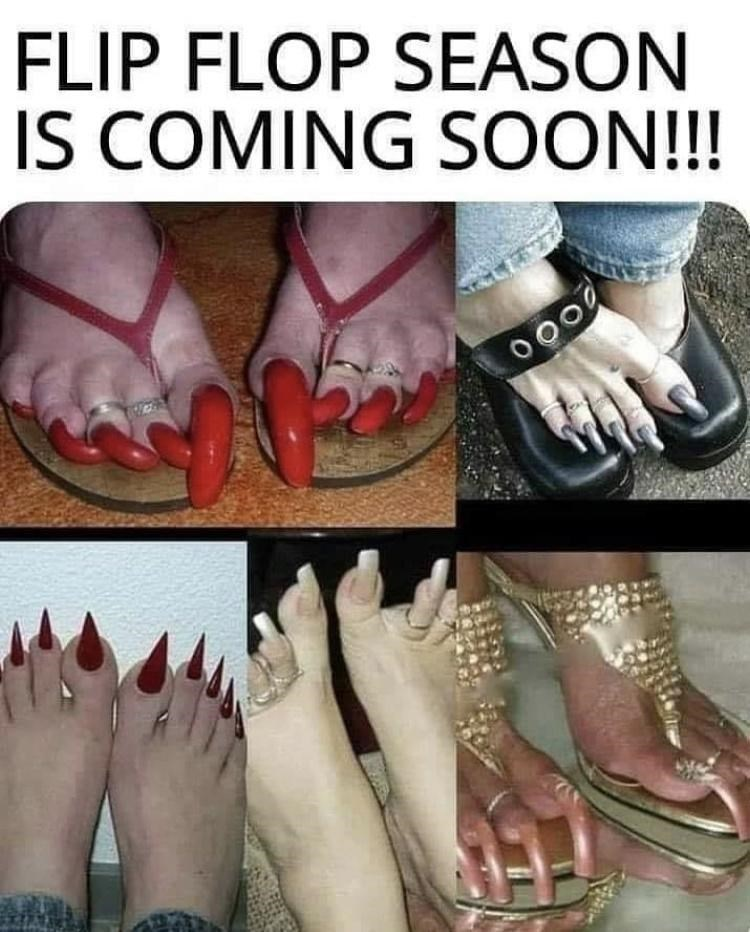 Footwear - FLIP FLOP SEASON IS COMING SOON!!