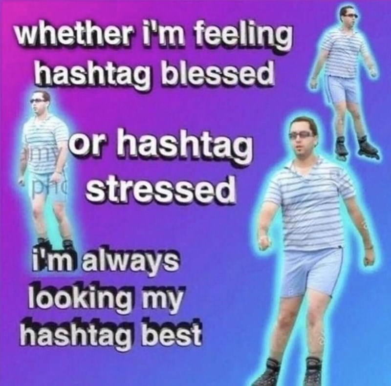 Joint - whether i'm feeling hashtag blessed or hashtag phe stressed i'm always looking my hashtag best