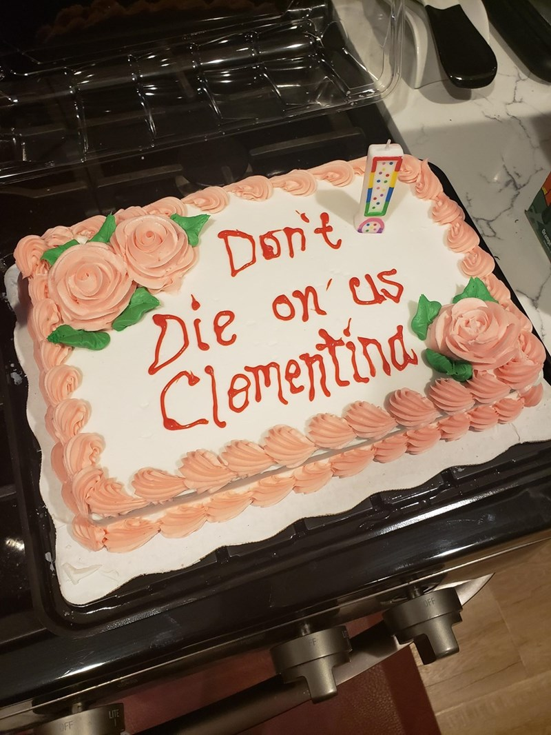 Food - Don't Die on us Clementina OFF LITE