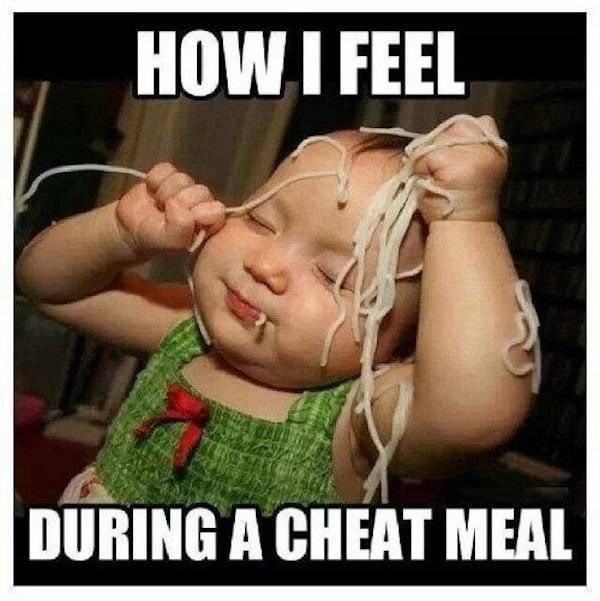 Cheek - HOW I FEEL DURING A CHEAT MEAL