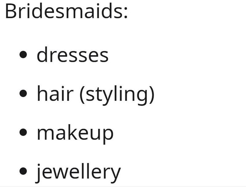 Font - Bridesmaids: dresses hair (styling) makeup jewellery