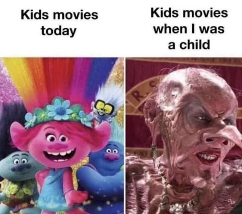 Organism - Kids movies Kids movies when I was a child today