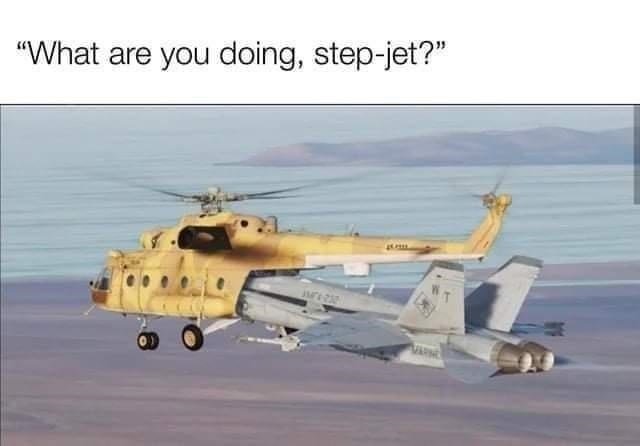 """Vehicle - """"What are you doing, step-jet?"""" WT"""