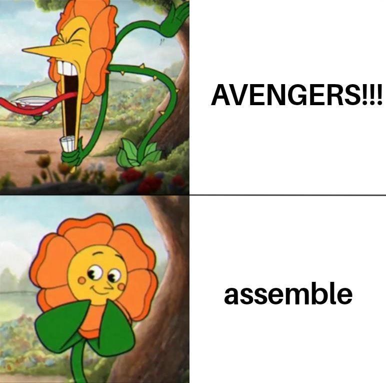 Plant - AVENGERS!!! assemble