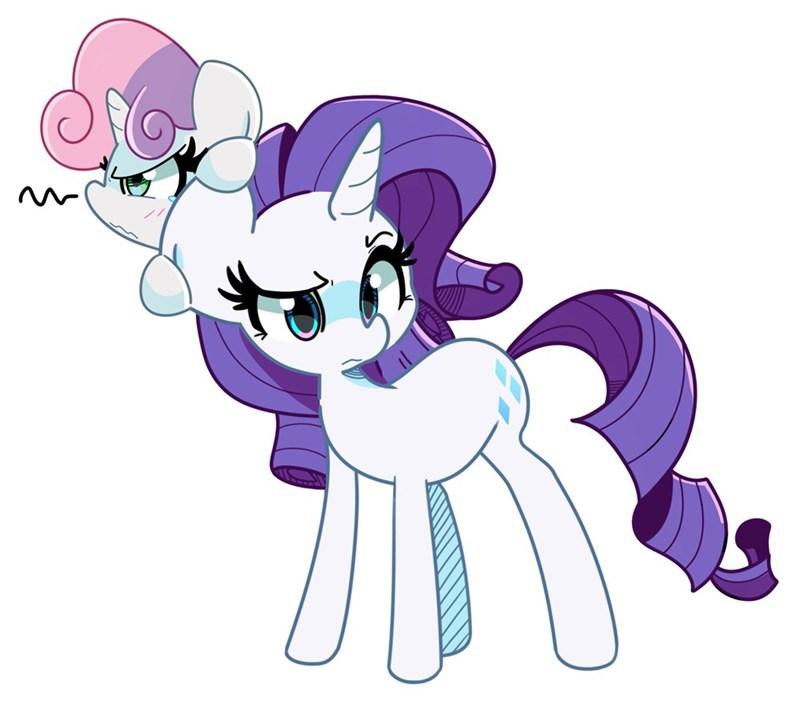Sweetie Belle kinda kismet rarity - 9612217344