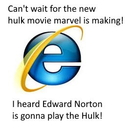 Font - Can't wait for the new hulk movie marvel is making! I heard Edward Norton is gonna play the Hulk!