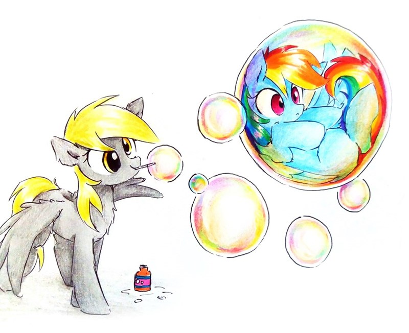 derpy hooves rainbow dash lia aqila - 9614359296